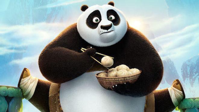 Po de Kung fu panda es el ejemplo perfecto de un personaje soñador