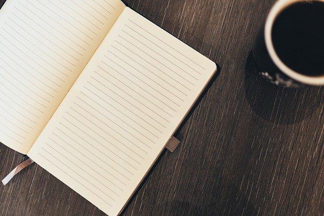 Cómo usar un cuaderno de escritura